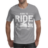 Born To Ride Funny Mens T-Shirt