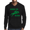 Born To Ride Horse Riding Pony Horse Mens Hoodie