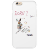 Born to ski by Dryer Phone Case