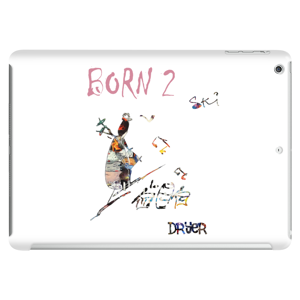 Born to ski by Dryer Tablet (horizontal)