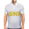 Born To Ski Forced To Work Mens Polo