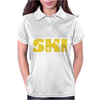 Born To Ski Forced To Work Womens Polo