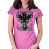 BORNCHOSIN: Appetite for destruction. Womens Fitted T-Shirt