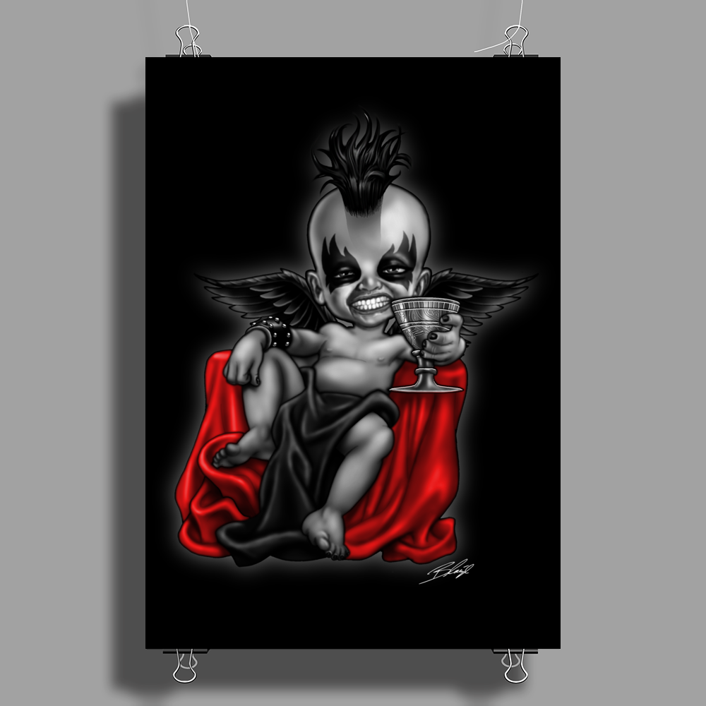 BORNCHOSIN:  Belial, he who is without sin…. Poster Print (Portrait)