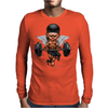 BORNCHOSIN: Brutus, no pain,no pain, no regrets. Mens Long Sleeve T-Shirt
