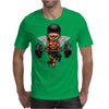 BORNCHOSIN: Brutus, no pain,no pain, no regrets. Mens T-Shirt