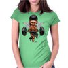 BORNCHOSIN: Brutus, no pain,no pain, no regrets. Womens Fitted T-Shirt