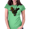 BORNCHOSIN: Maximus, love hurts. Womens Fitted T-Shirt