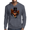 BORNCHOSIN: Phoenix rises from the ashes Mens Hoodie