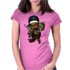BORNCHOSIN: Spit the truth. Womens Fitted T-Shirt