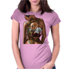 BORNCHOSIN: Tattoo Ace Womens Fitted T-Shirt