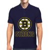 Boston B Strong Marathon Mens Polo