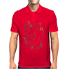 Boston Terrier art Mens Polo
