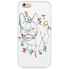 Boston Terrier art Phone Case