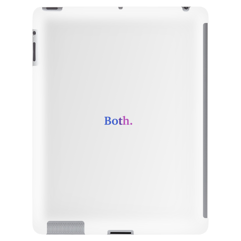 """Both"" Bisexual - Bi colors Tablet"