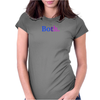 """Both"" Bisexual - Bi colors Womens Fitted T-Shirt"