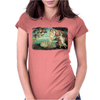 Boticelli Birth of Venus Womens Fitted T-Shirt