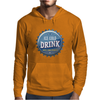 bottle cap crown cap blue crown cork ice cold drink join the party enjoy your party drink alcohol Mens Hoodie
