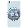 bottle cap crown cap blue crown cork ice cold drink join the party enjoy your party drink alcohol Phone Case