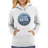 bottle cap crown cap blue crown cork ice cold drink join the party enjoy your party drink alcohol Womens Hoodie