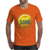 bottle cap crown cap yellow crown cork ice cold soda join the party enjoy your party drink water Mens T-Shirt