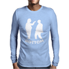 Bottom Eye Poke Mens Long Sleeve T-Shirt