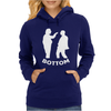 Bottom Eye Poke Womens Hoodie