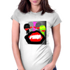 Bouche band Womens Fitted T-Shirt