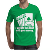 Bought This Shirt With Your Money Poker Mens T-Shirt