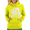 Bought This Shirt With Your Money Poker Womens Hoodie