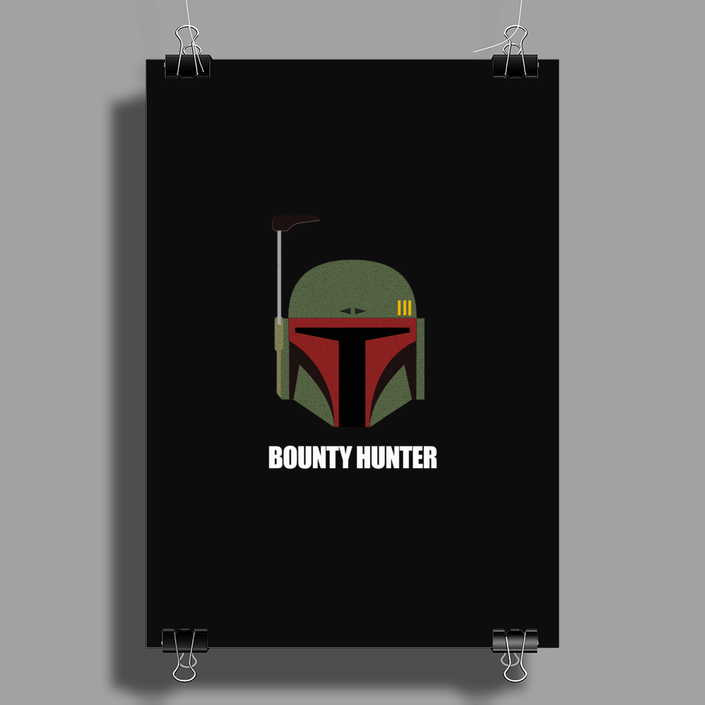 Bounty Hunter Poster Print (Portrait)