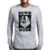 Bowie Mode Mens Long Sleeve T-Shirt