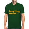 Bowling Sucks Mens Polo