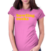 Bowling Sucks Womens Fitted T-Shirt