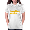 Bowling Sucks Womens Polo