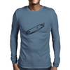 box cutter art Mens Long Sleeve T-Shirt