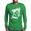 Boxer Dog Pillow Mens Long Sleeve T-Shirt