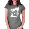 Boxer Dog Pillow Womens Fitted T-Shirt