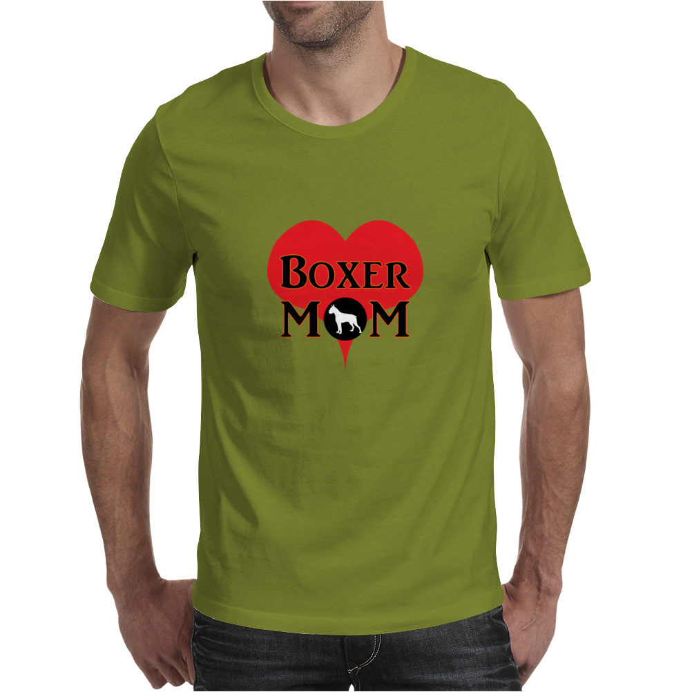 Boxer mom Mens T-Shirt