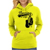 Boxing Is Life Womens Hoodie