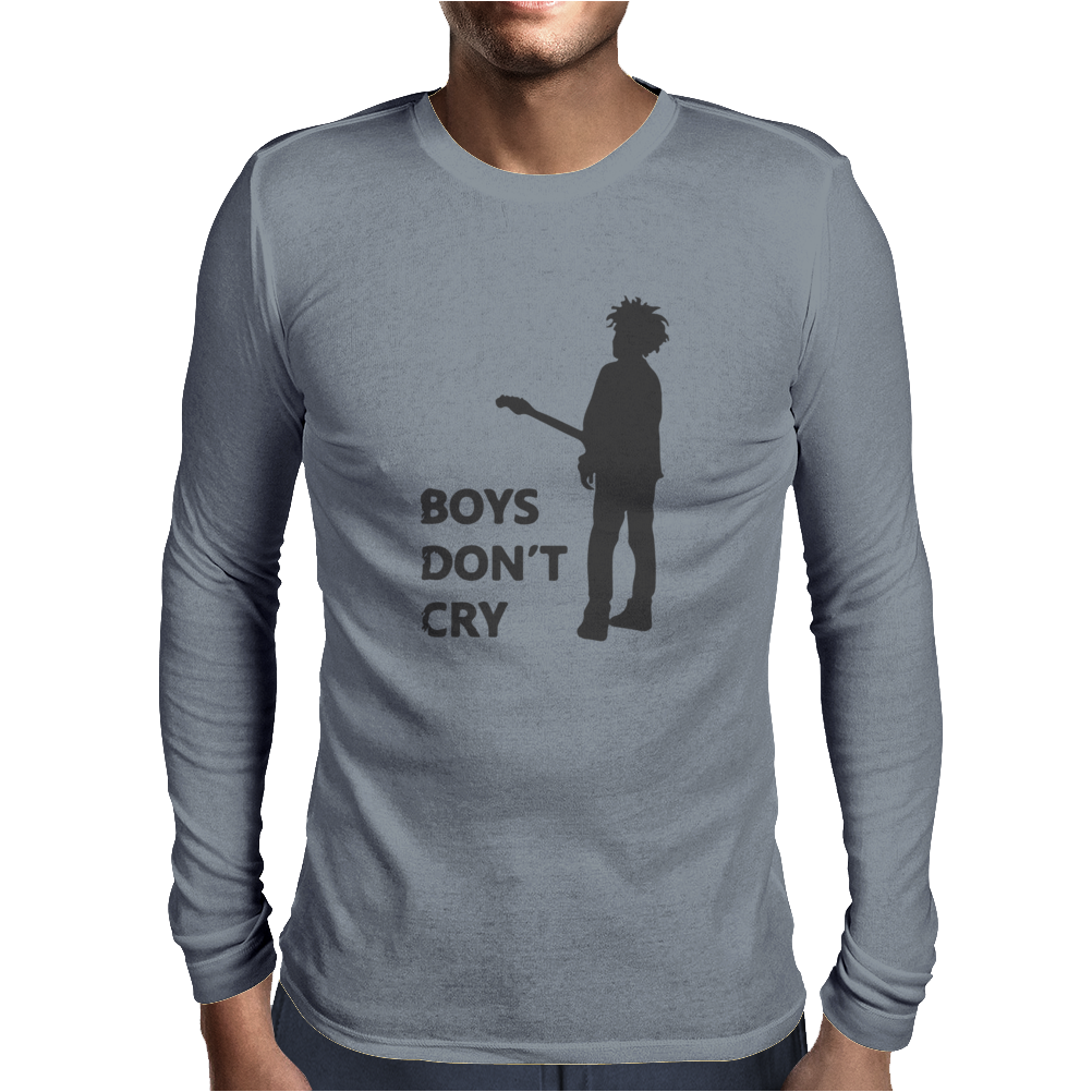 Boys Don't Cry Mens Long Sleeve T-Shirt