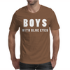 BOYS WITH BLUE EYES Mens T-Shirt
