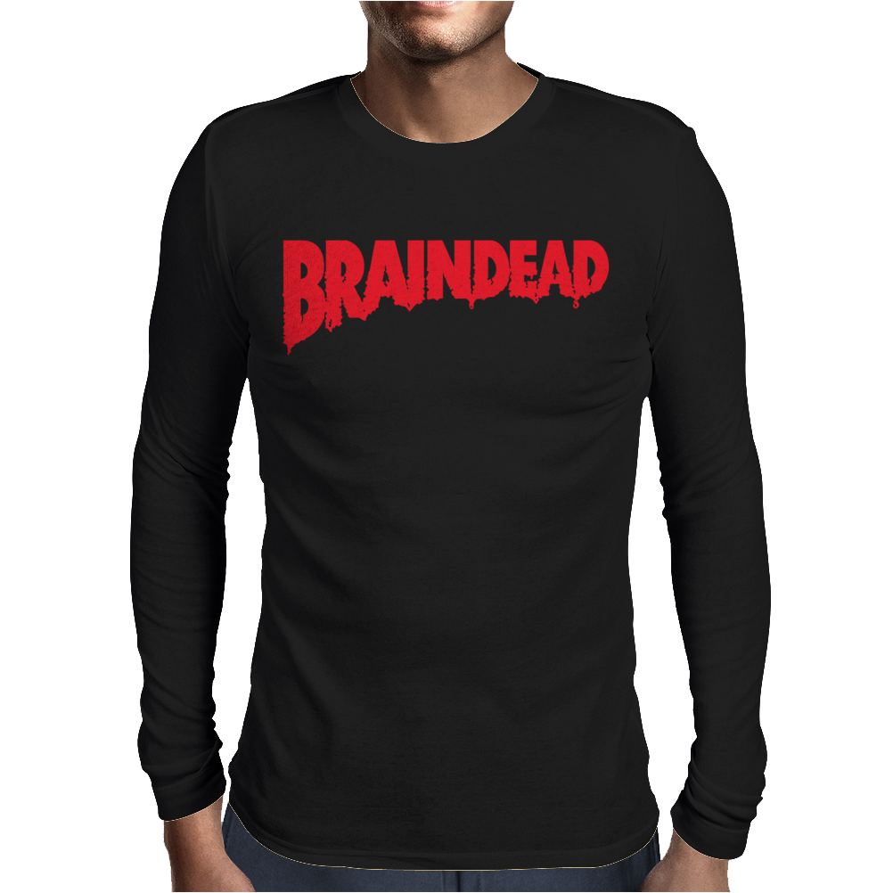 Brainded Logo Mens Long Sleeve T-Shirt