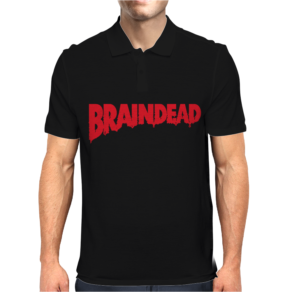 Brainded Logo Mens Polo