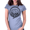 Brainz Full Circle Womens Fitted T-Shirt