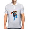Brak Space Ghost Cartoon Alien Space Pirate Mens Polo