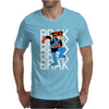 Brak Space Ghost Cartoon Alien Space Pirate Mens T-Shirt