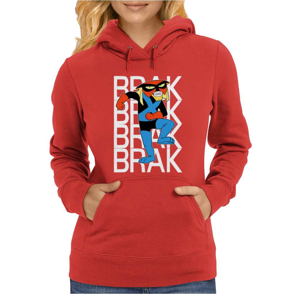 Brak Space Ghost Cartoon Alien Space Pirate Womens Hoodie