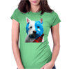 Brave Westie Womens Fitted T-Shirt