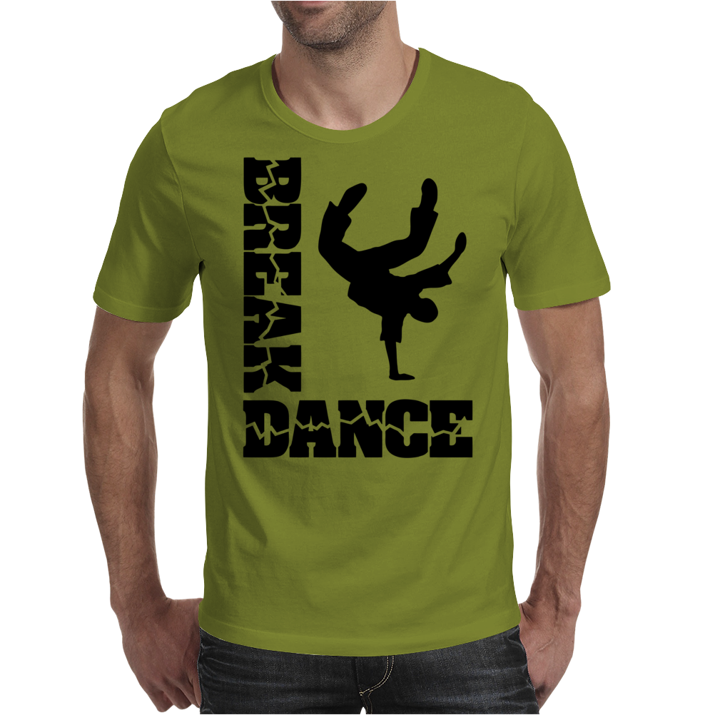 Breakdance Dancer Mens T-Shirt